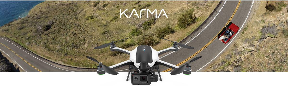 GoPro presenta ufficialmente il drone Karma