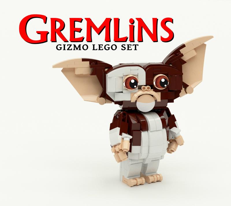 LEGO Gremlins Gizmo MOC